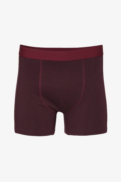 CLASSIC ORGANIC Boxer Briefs oxblood red