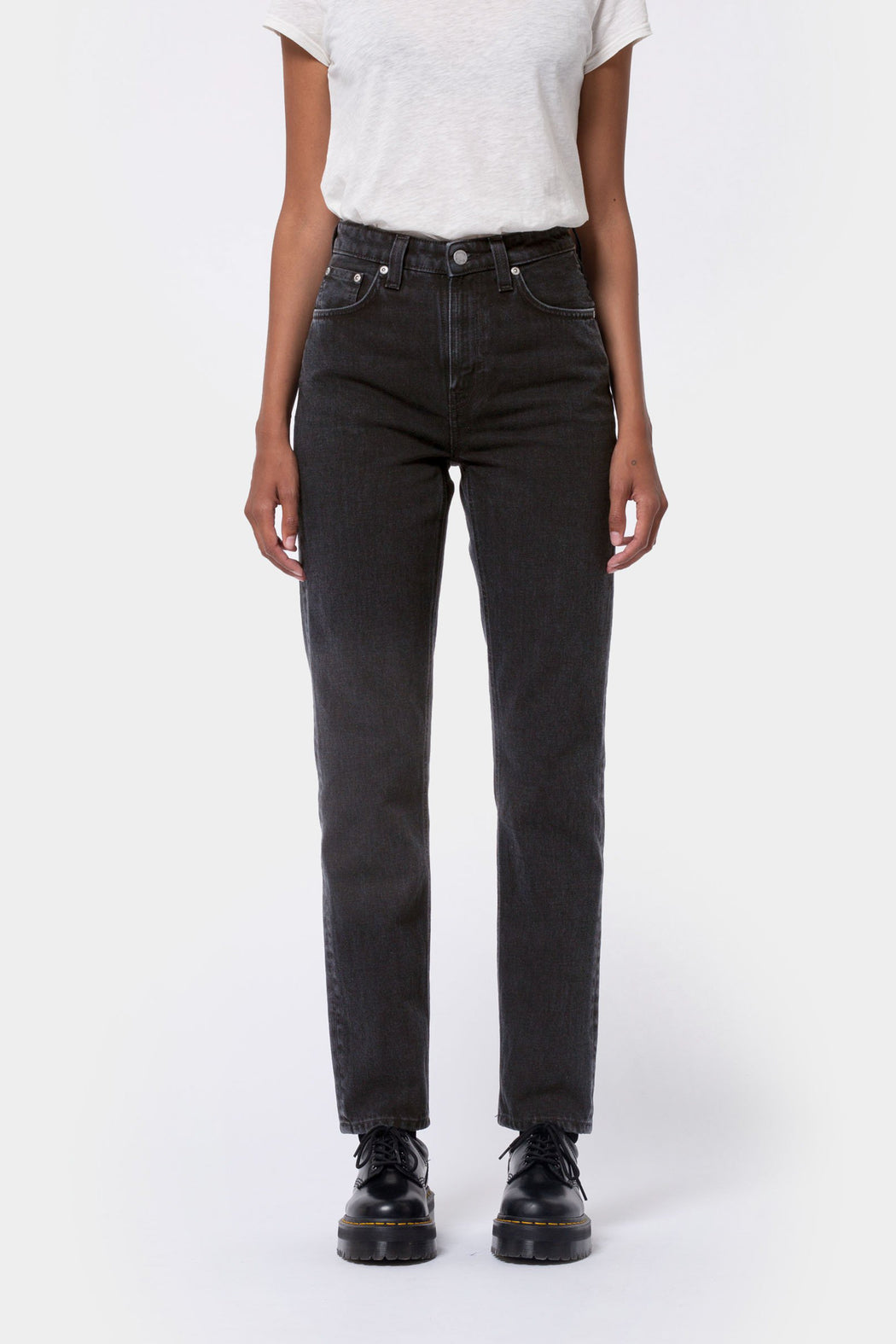 BREEZY BRITT Jeans black worn