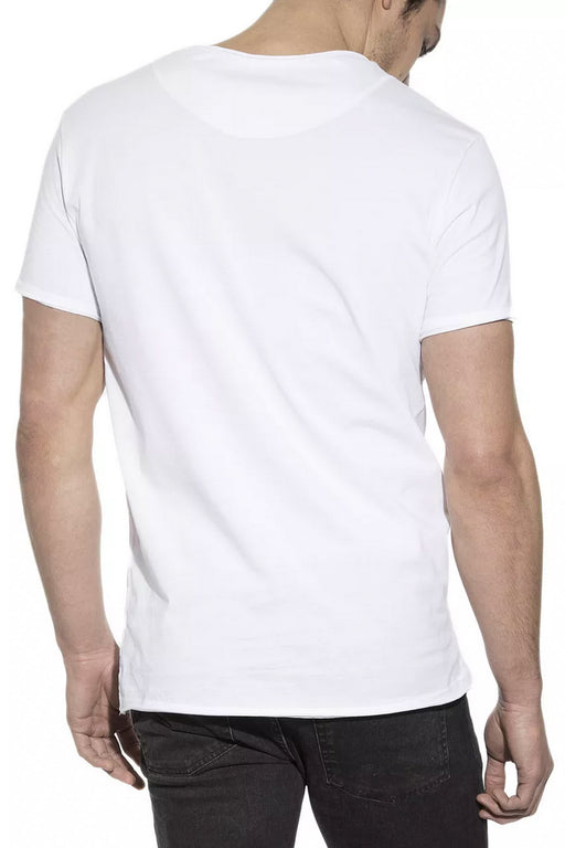 MAN CREW-NECK relaxed T-Shirt white