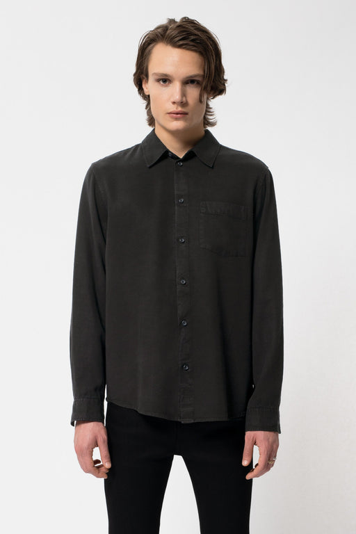 CHUCK Smooth Twill Shirt black