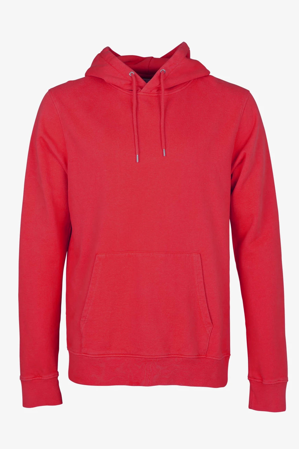 CLASSIC ORGANIC HOOD scarlet red