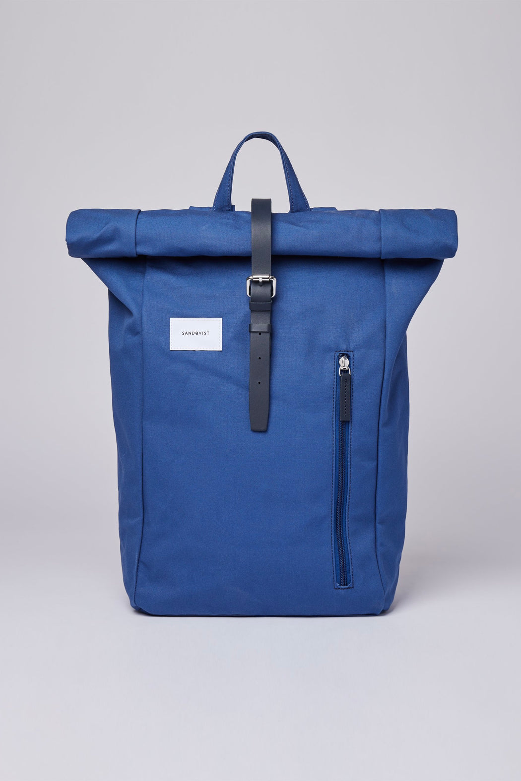 DANTE Backpack blue with blue leather