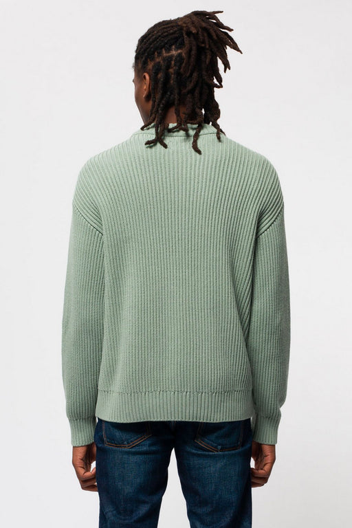 FRANK Chunky Rib Sweater pale green
