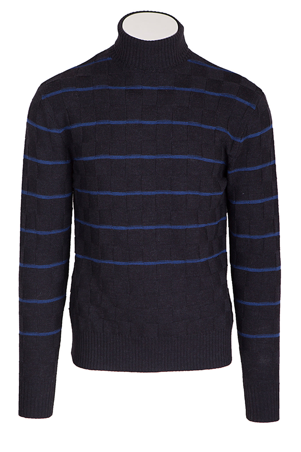 GATSBY Pullover navy/blue stripes