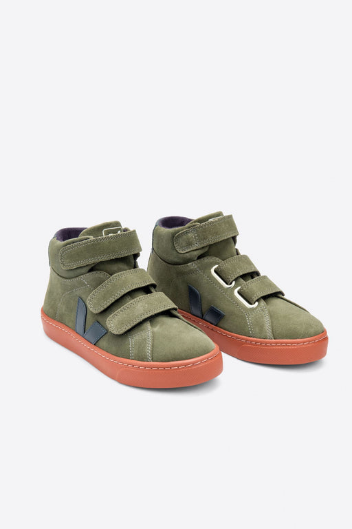 JUNIOR SMALL ESPLAR MID Suede mud nautico rust sole