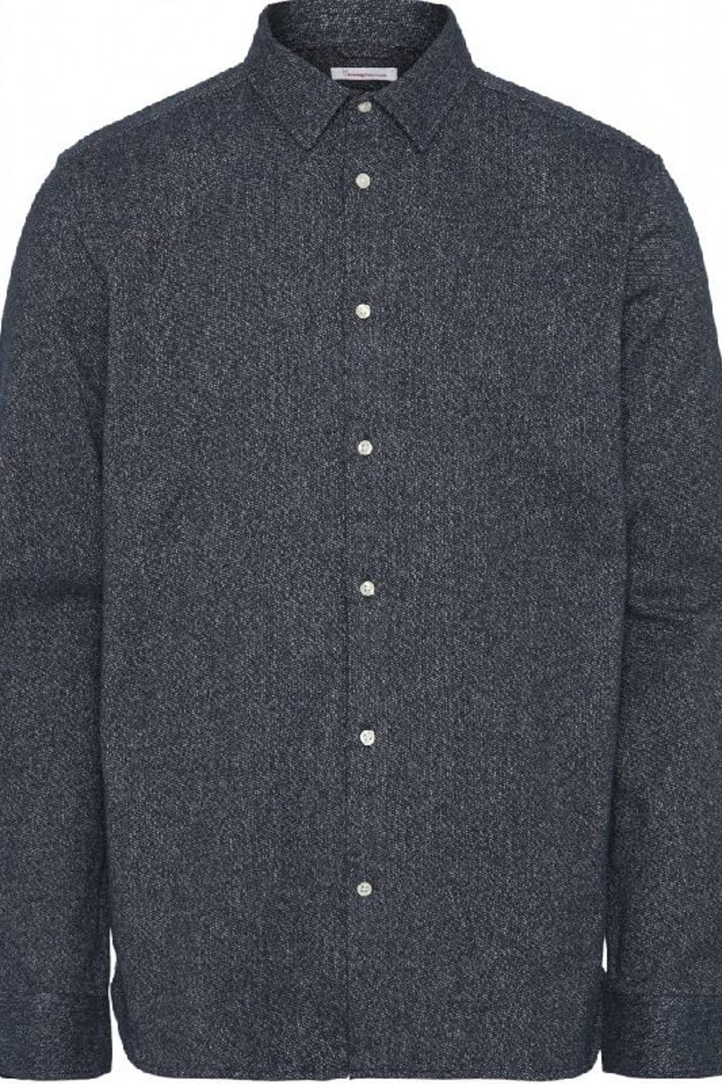 LARCH LS Brushed Shirt 90847 total eclipse