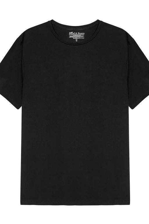 MAN CREW-NECK T-Shirt black