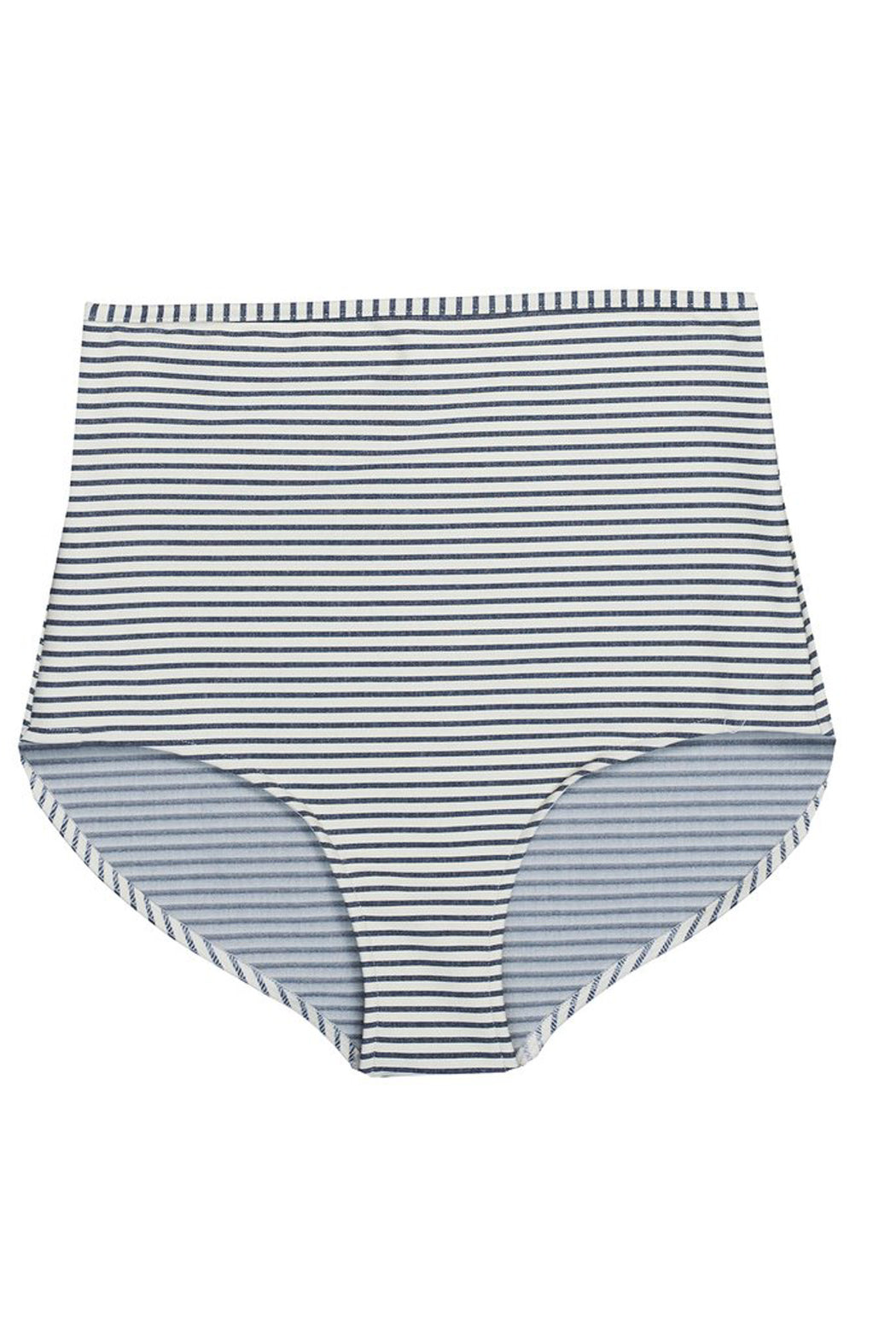 HIGHWAIST SHORTS stripes seaside