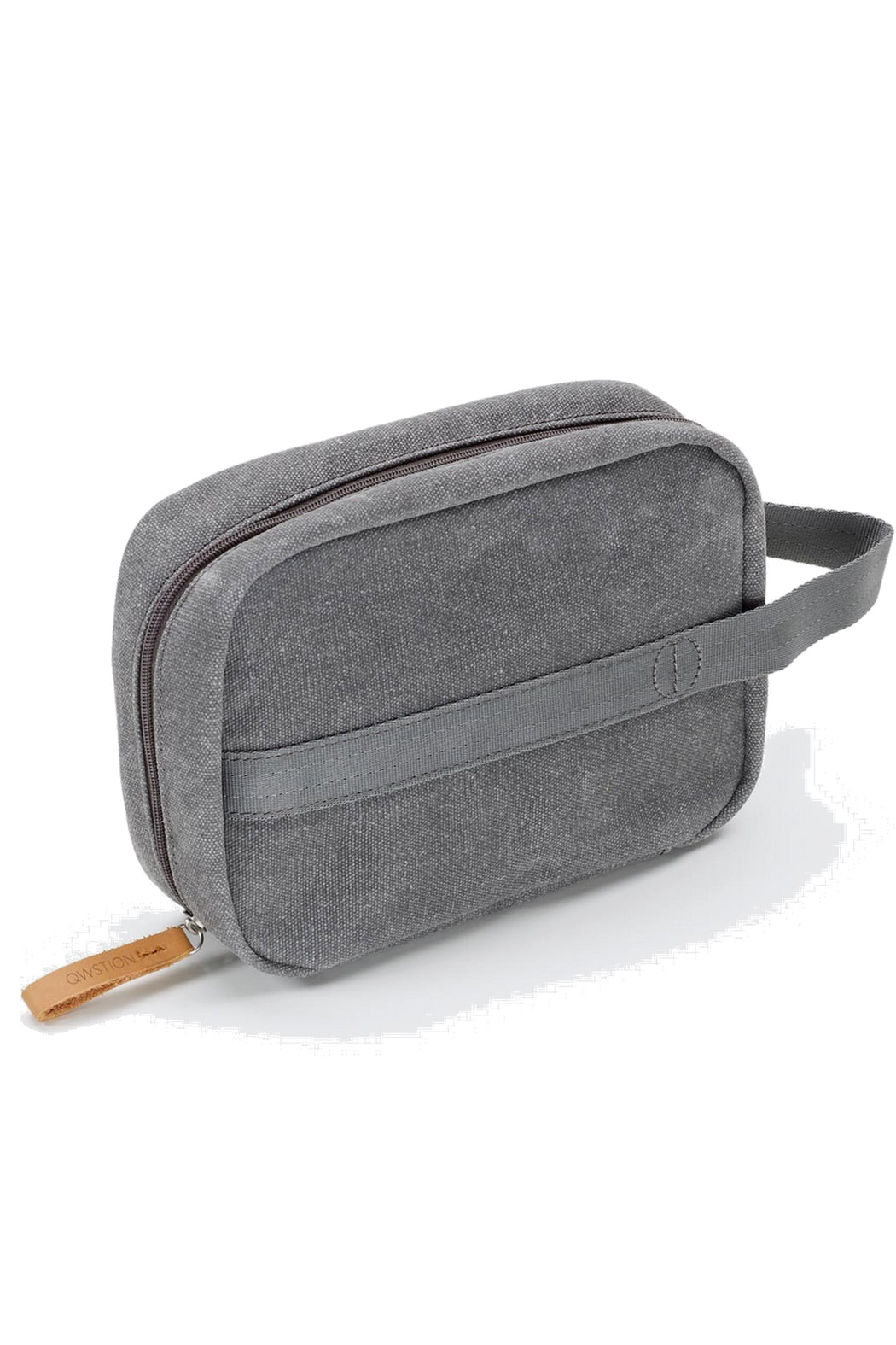 TOILETRY KIT organic washed grey