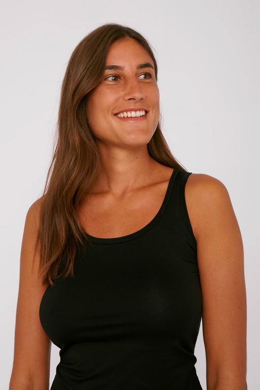 TENCEL Lite Tank Top black