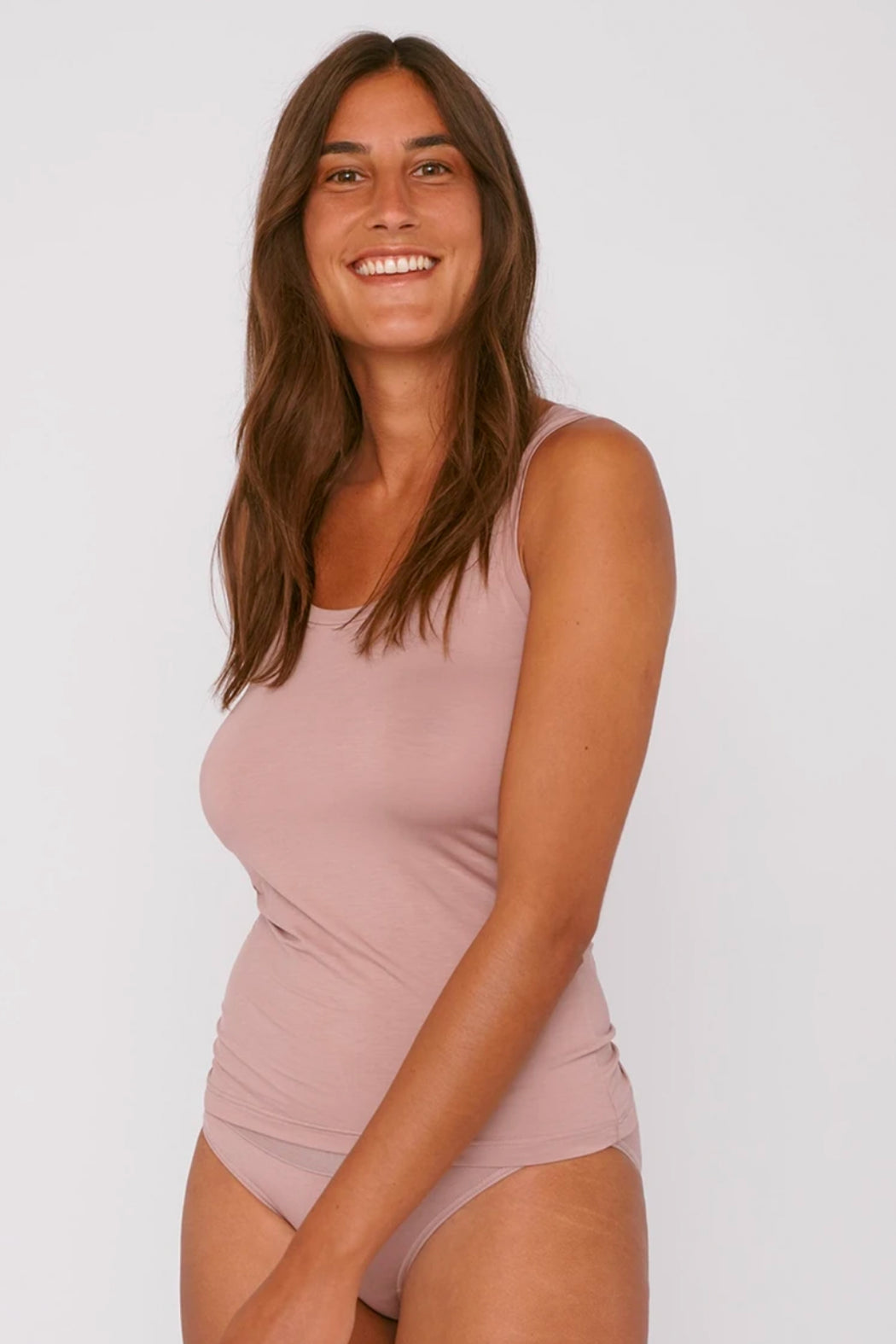 TENCEL Lite Tank Top dusty rose