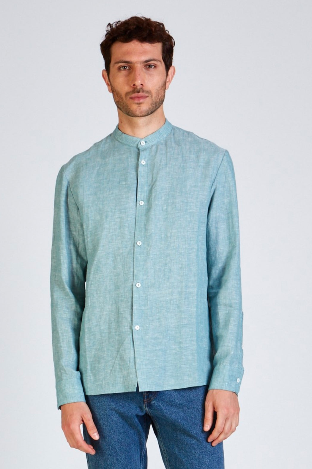 WES Buttoned Shirt mint