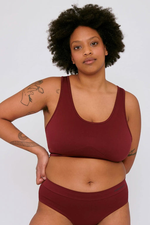 ACTIVE Workout Bra burgundy
