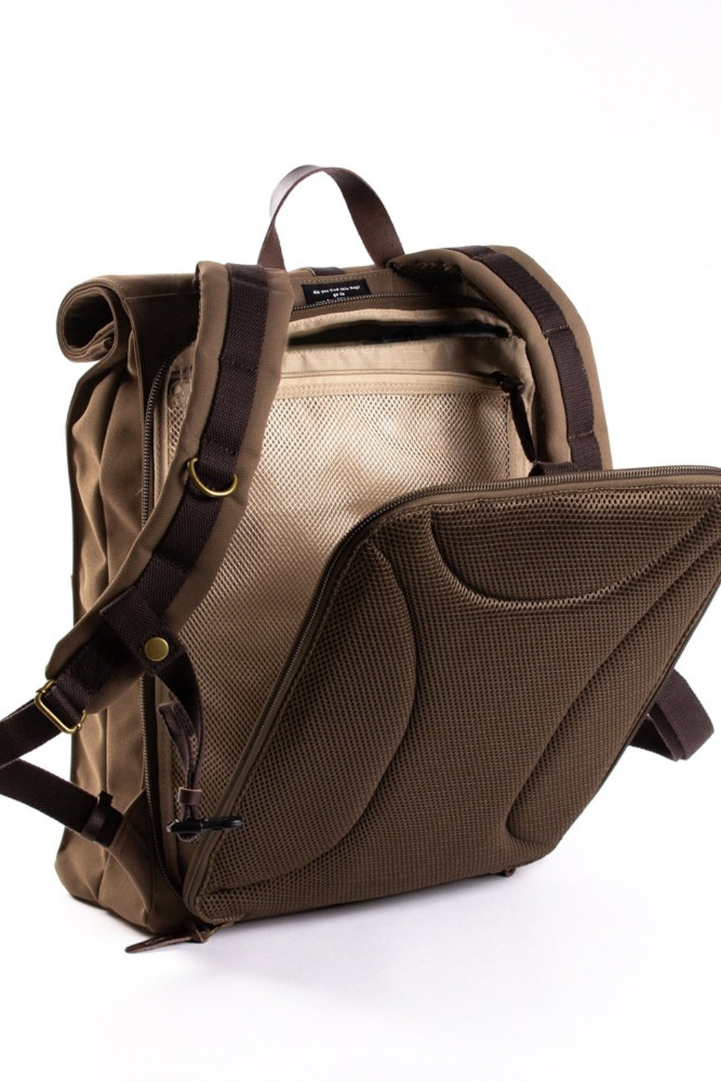 ALEX 24h Backpack olive brown / brown