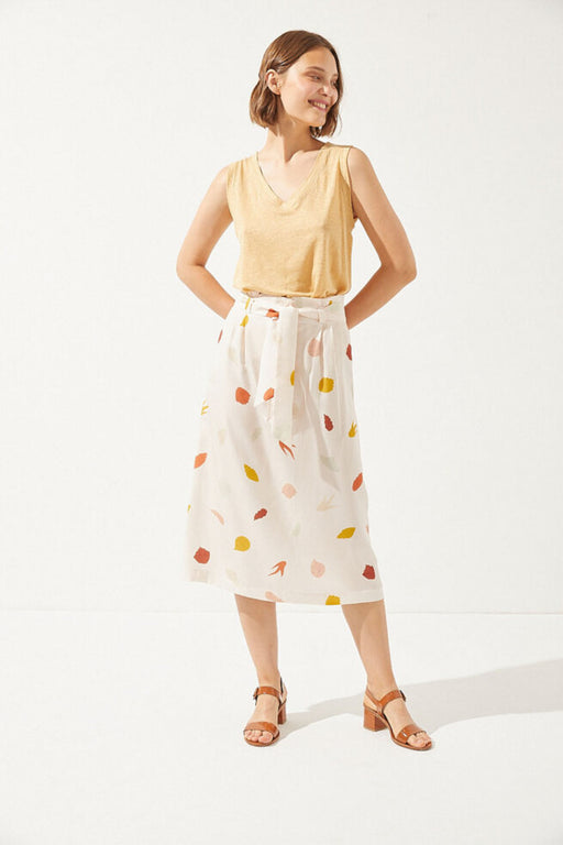 THAIS Skirt seashell print