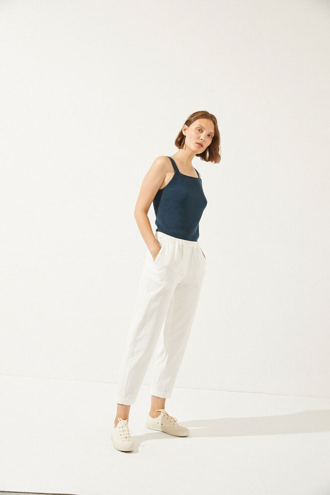 ZERITH Trousers white