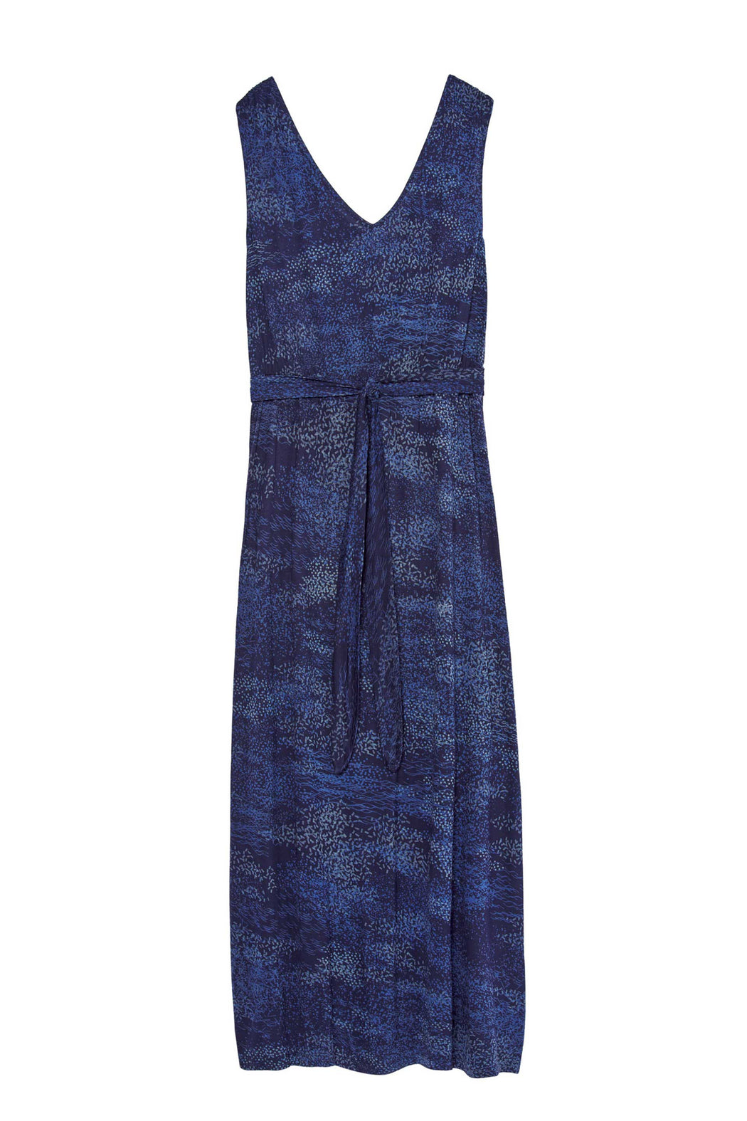 JARE Dress B6 spray print blue