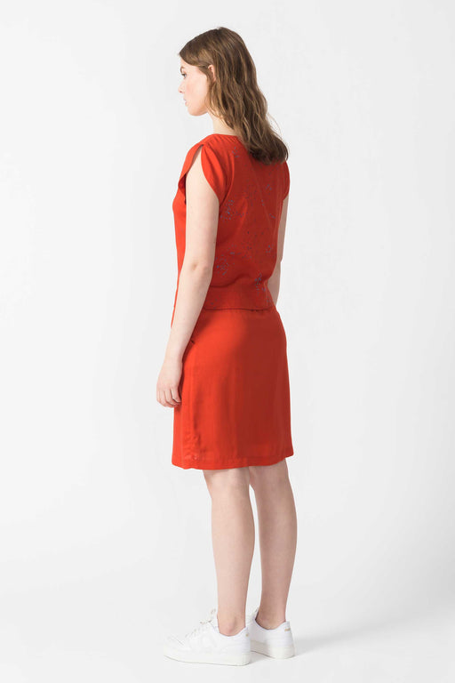 NORA Dress R6 chili orange