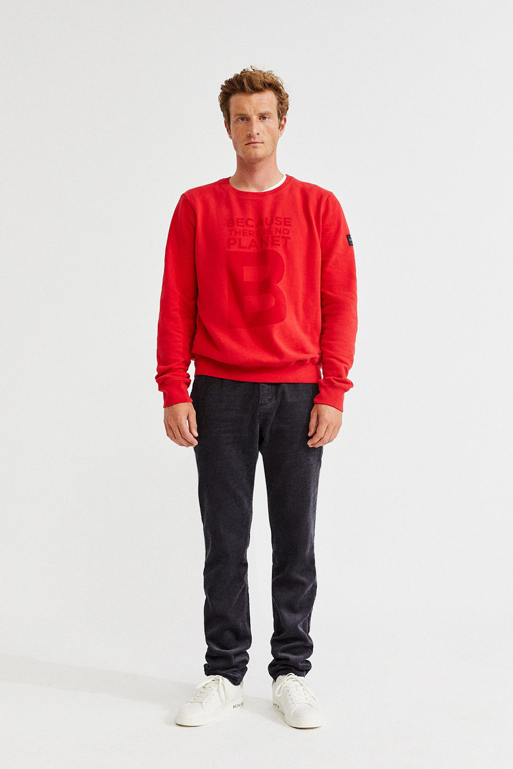 GREAT B Sweatshirt red
