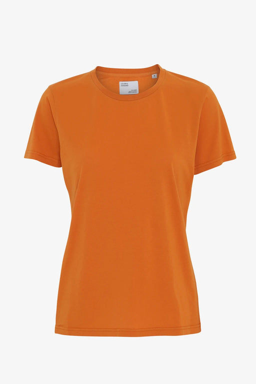 WOMAN LIGHT ORGANIC Tee burned orange
