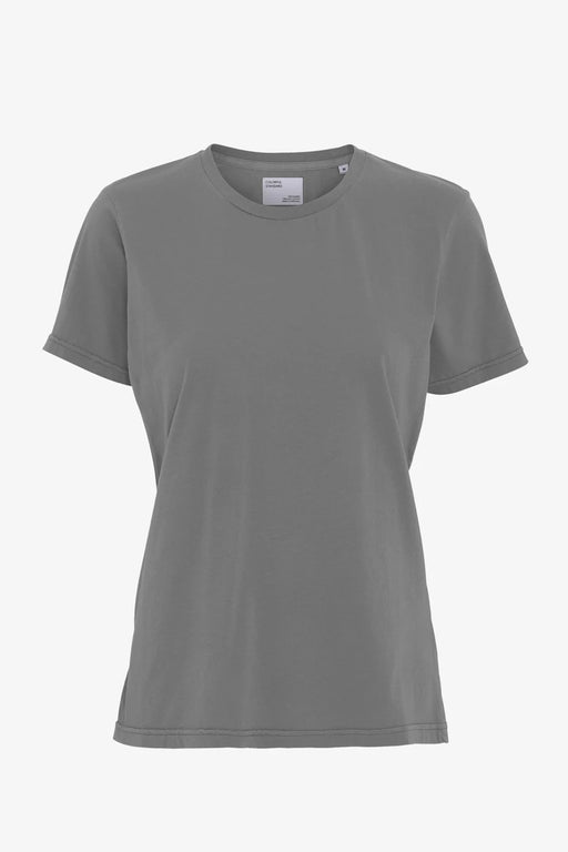 WOMAN LIGHT ORGANIC Tee storm grey
