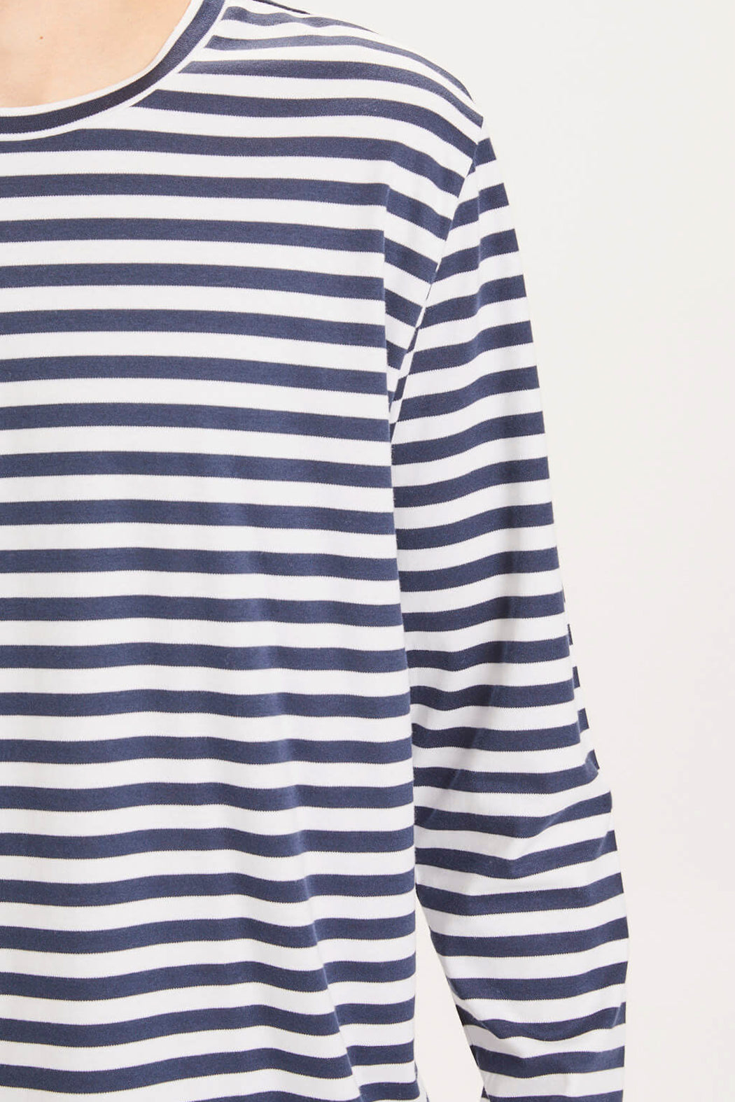 LOCUST Striped Long Sleeve total eclipse