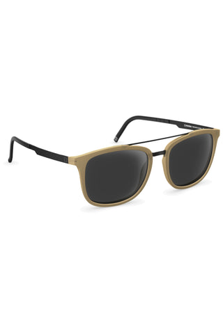 JOSEPH T606 Sunglasses cream matte/black ink