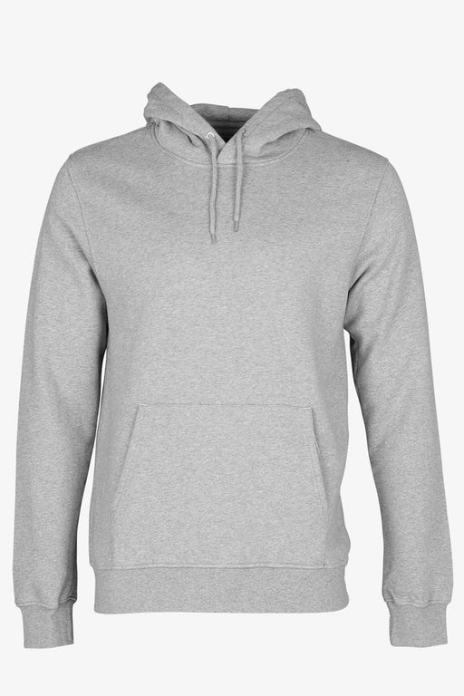CLASSIC ORGANIC HOOD heather grey