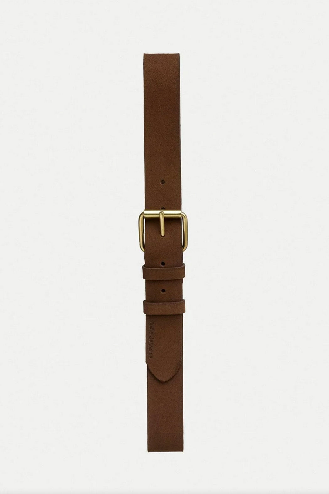 PEDERSSON SUEDE Belt brown