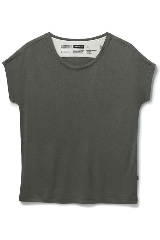 FEMALE Scoop Neck dusty olive