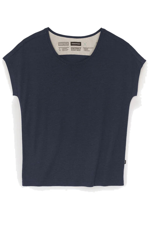FEMALE Scoop Neck shaded blue