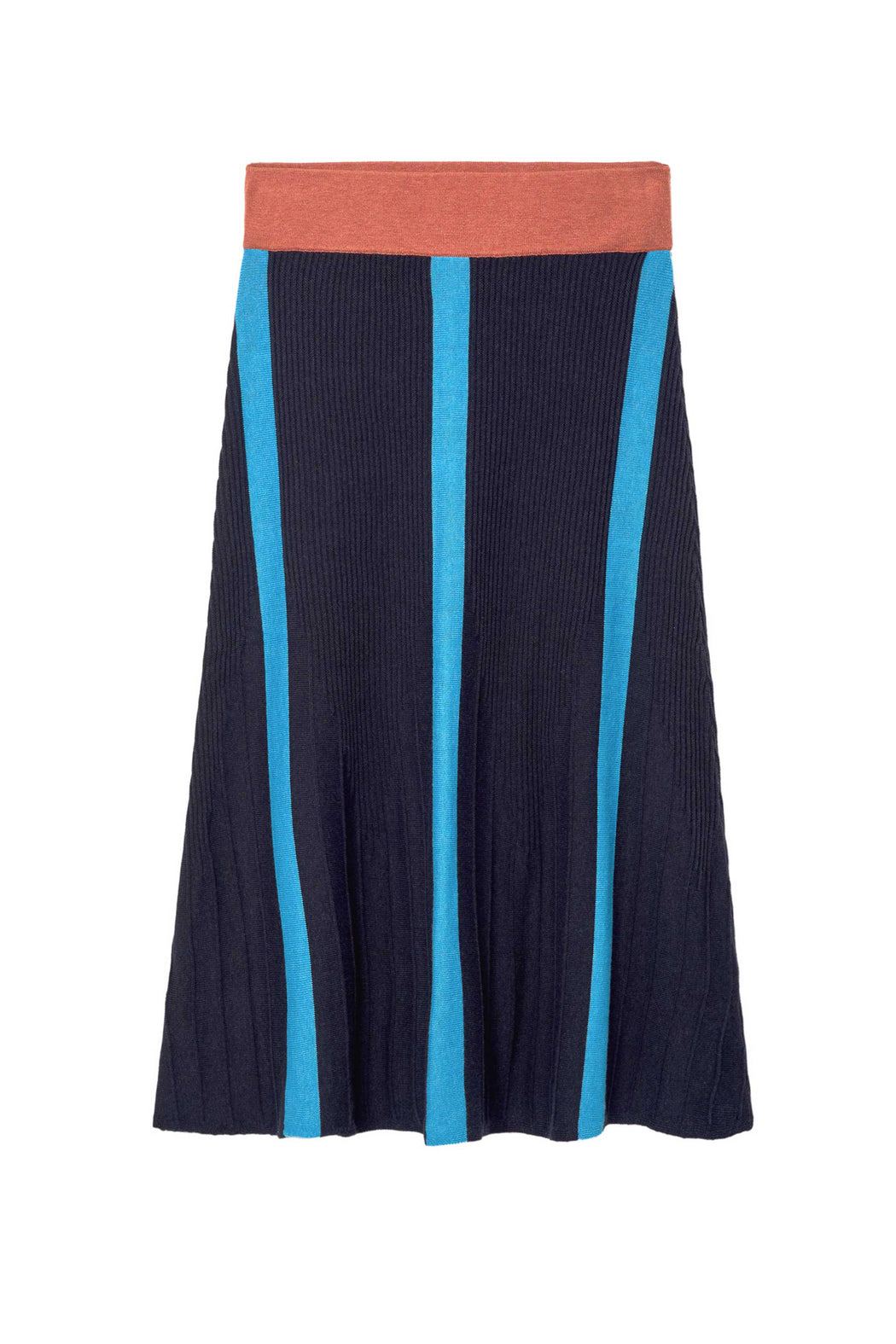 HEKATE Skirt B9 navy pale clay blue