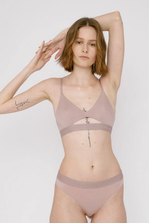 TENCEL LITE BRALETTE dusty rose