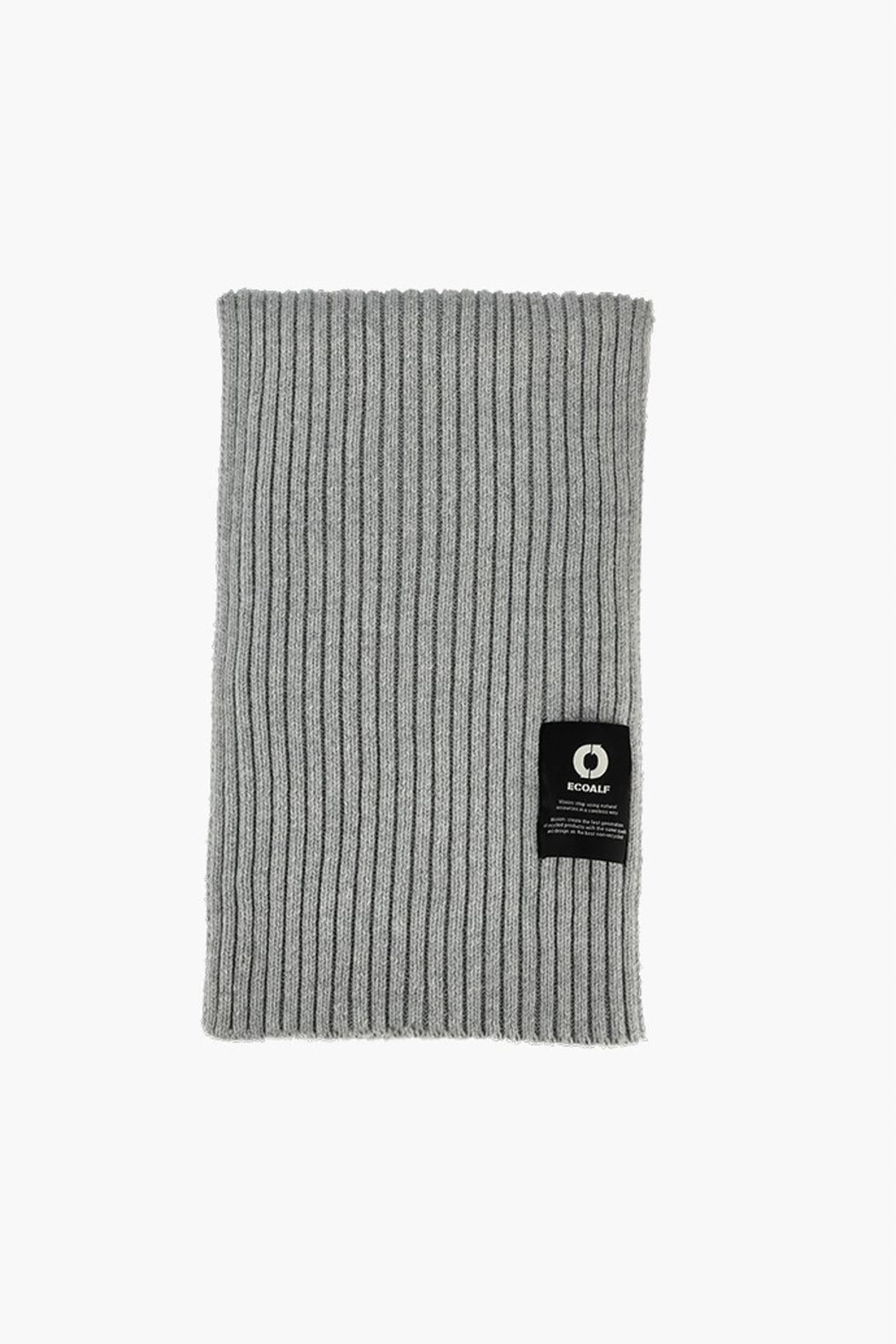THICK SCARF grey melange