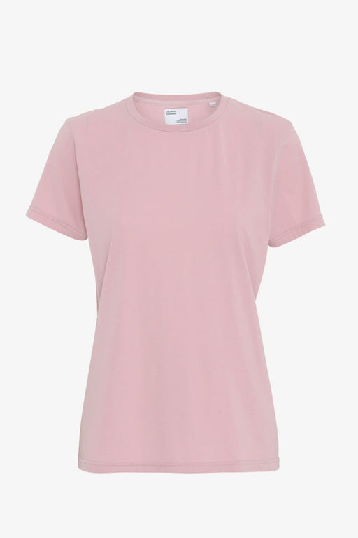 WOMAN LIGHT ORGANIC Tee faded pink