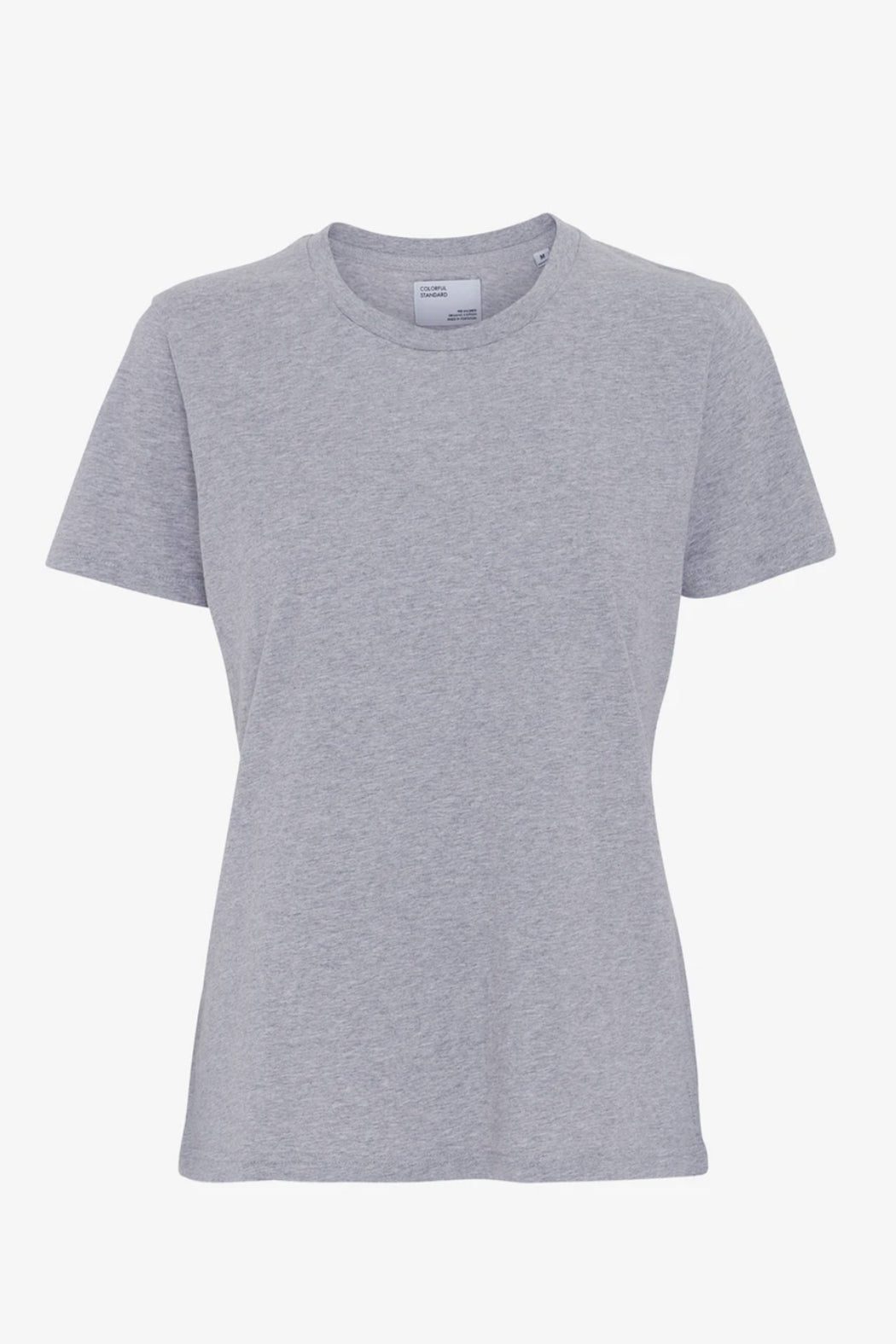 WOMAN LIGHT ORGANIC Tee heather grey
