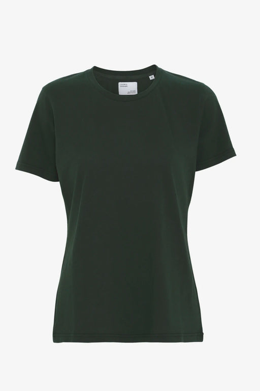 WOMAN LIGHT ORGANIC Tee hunter green