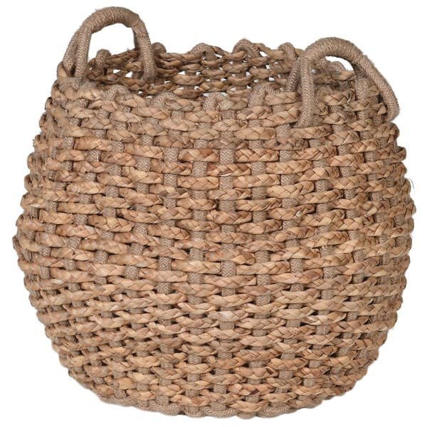 Hyacinth Jute Basket