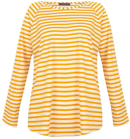 Tasha Top / Mustard Stripe