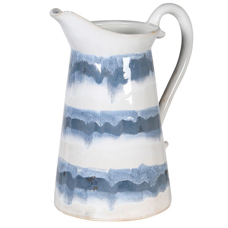 Blue/White Ceramic Jug