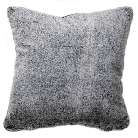 Dark Grey Faux Fur Cushion Cover only