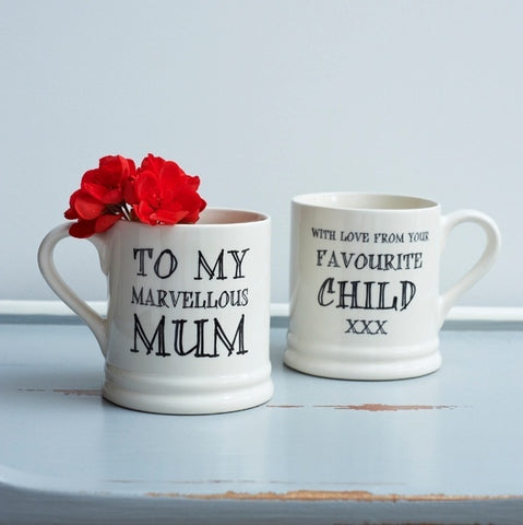 Mug - Marvellous Mum love your favourite child