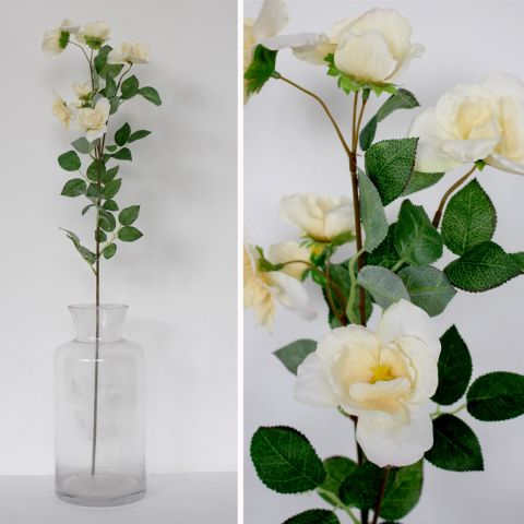 ROCK ROSE WHITE - Artificial Flower