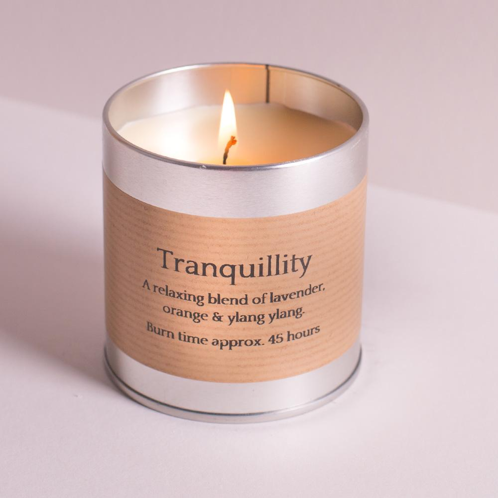 Tranquility Scented Tin Candle