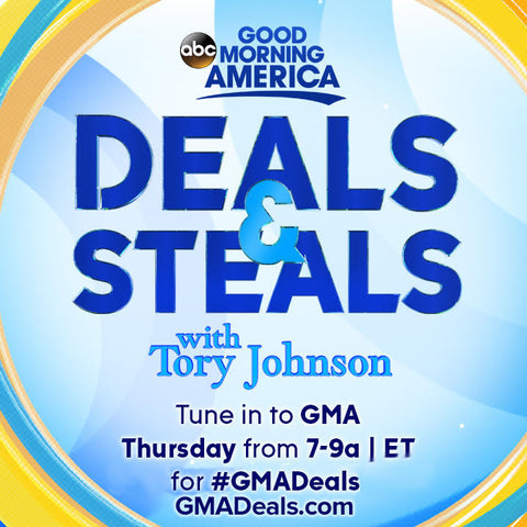 What A Fun Day So Honored To Be Part Of This Segment Good Morning America Deals And Steals With Tory Johnson