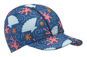NEW PRINTS Infant Sun Hat Size Small  (Ages 0-1)