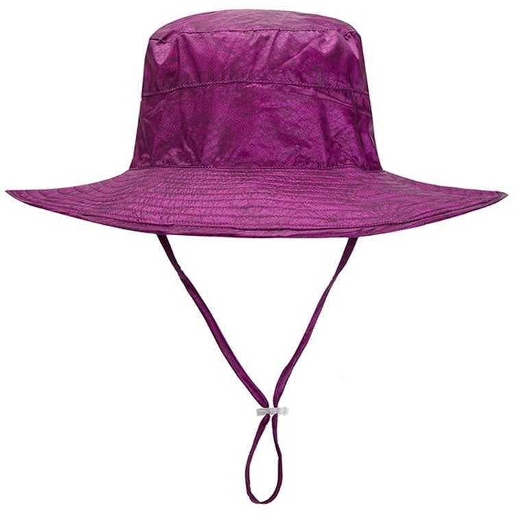 NEW Adult Nylon Bucket Hat Purple - SWIMLIDS 593e8bfb2b1