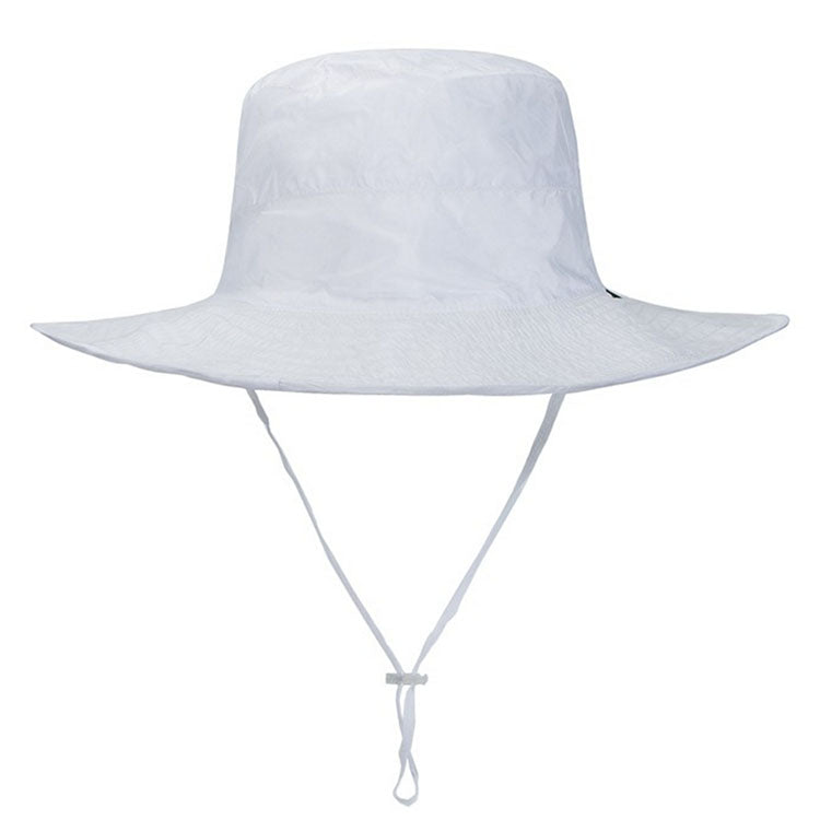 NEW Adult Nylon Bucket Hat White - SWIMLIDS 5593b0e0d9c