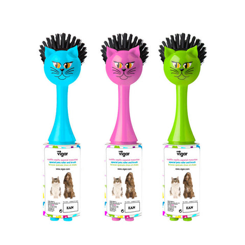 """Cat"" Pets Adhesive Roller & Brush"