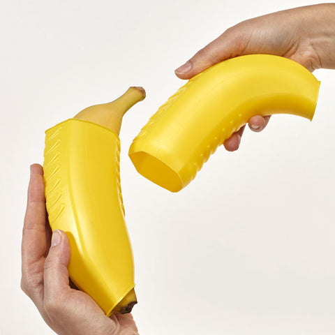 """Banana 'n Go"" Expandable Banana Carrying Box"